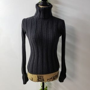Banana Republic Cable Knit Turtle Neck Sweater